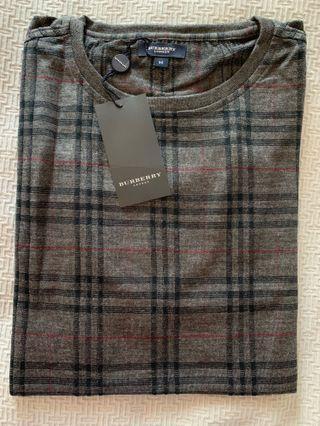 Burberry sweater, men's top, Size Medium, brand new!
