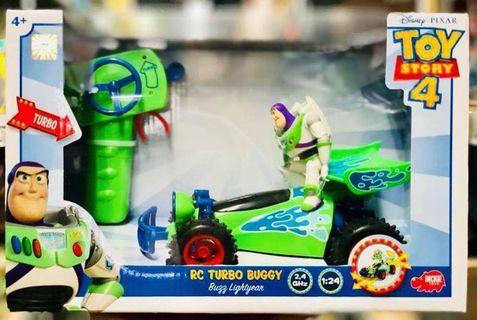 TOY STORY 4 正版迪士尼 玩具總動員4 1:24巴斯光年遙控車