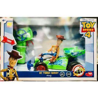 TOY STORY 4 正版迪士尼 玩具總動員4 1:24胡迪遙控車