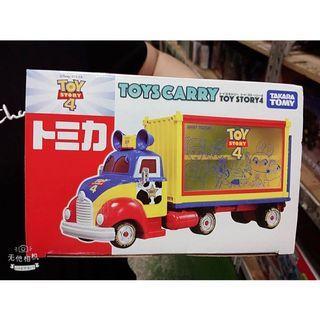 TOYS CARRY 迪士尼系列 玩具總動員收納車TOY STORY 4