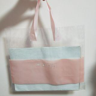 bn clear pastel pink carriers