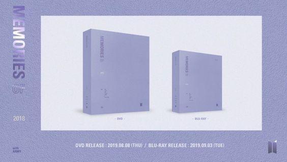 [LOOSE] BTS MEMORIES OF 2018