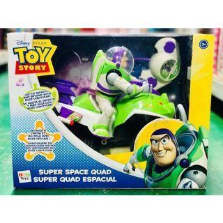 TOY STORY 正版迪士尼玩具總動員巴斯光年太空船遙控車