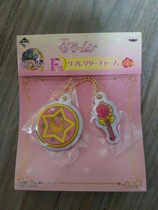日本 美少女戰士吊飾 鎖匙扣月稜鏡變身 sailor moon key chain