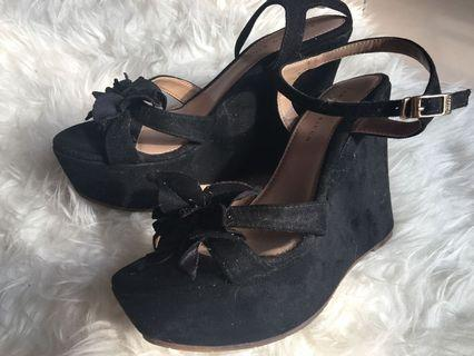 Fabiano ricco black wedges
