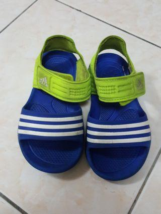 Authentic Adidas Sandal Blue & Green