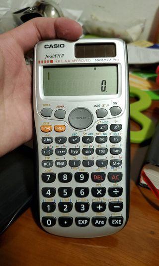 Casio計數機fx-50FH ll