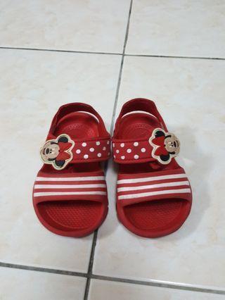 Authentic Disney Minnie Mouse Adidas Sandal