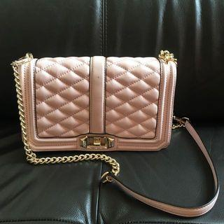 🚚 AUTHENTIC Rebecca Minkoff Love Crossbody In Baby Pink