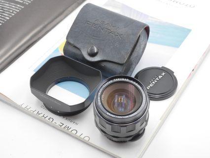 Pentax Takumar 28mm F3.5 + Original hood [M42 mount]