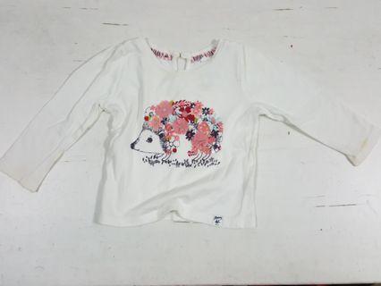 Mantaray Hedgehog Long Sleeve Shirt