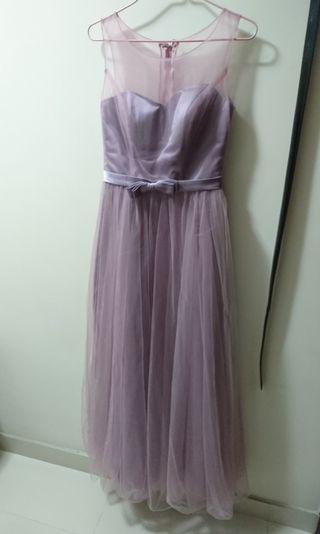晚裝裙 伴娘裙 姊妹裙 謝師宴 dress 連身裙 紗裙