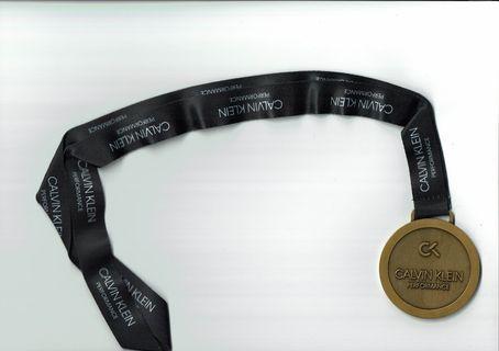 Calvin Klein Performance Run 2018 完成獎牌