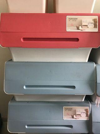 日本製 Froq 塑膠儲物箱(大)