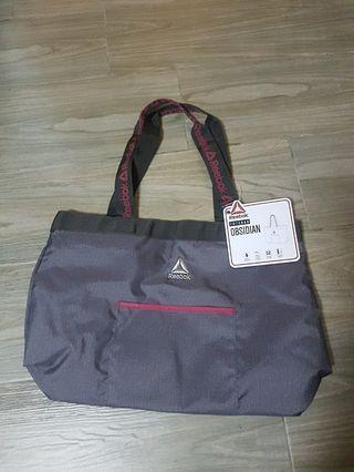 Reebok 防水輕身大容量運動袋購物袋obsidian tote bag yoga water resistant Adidas Nike under armour bike training boxing