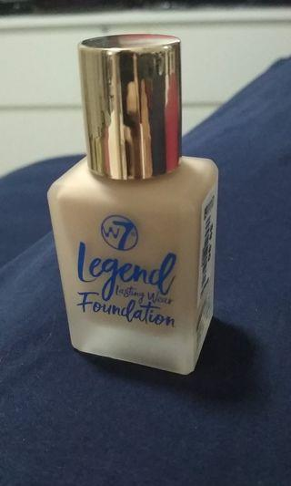 W7 Legend lasting wear foundation!!