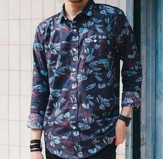 Tropical Longsleeves Shirt