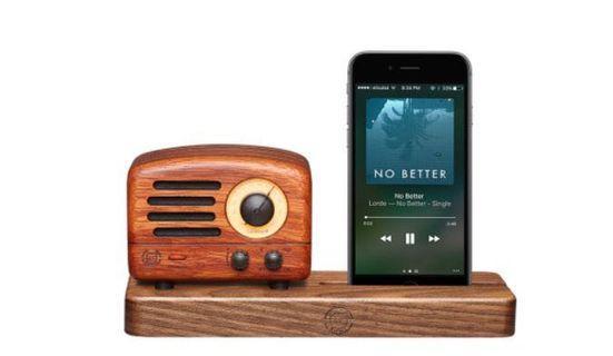 MUZEN OTR WOOD: RETRO RADIO BLUETOOTH SPEAKER
