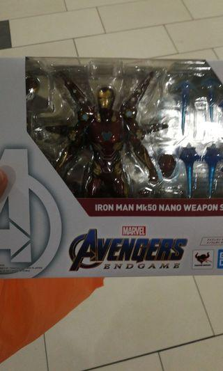 SHF iron man nano weapon set 1 mark 50