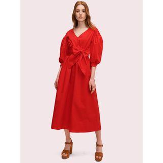 Kate Spade 紅色連衣裙 短袖洋裝 XS號