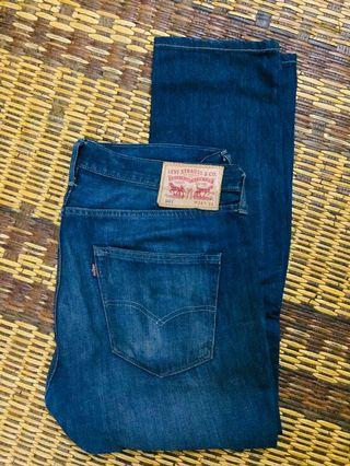 Auth. Levis 501 W34