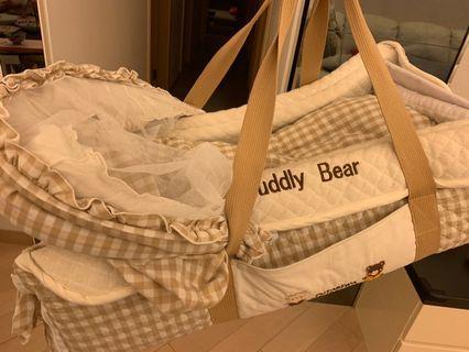 BB 初生嬰兒手提籃(連被)