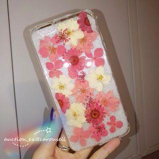 iPhone6/6s plus 乾花手機殼