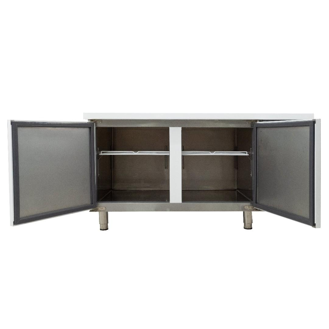 2-Door Counter Chiller (White)