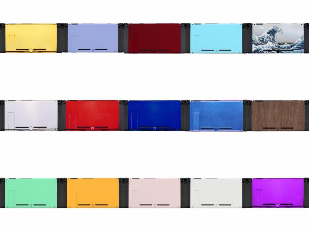 最後召集團購高質Switch joycon手掣主機殼+換殼服務 顏色按鍵 Joy Con Shell  手制改色維修漂移 sr sl