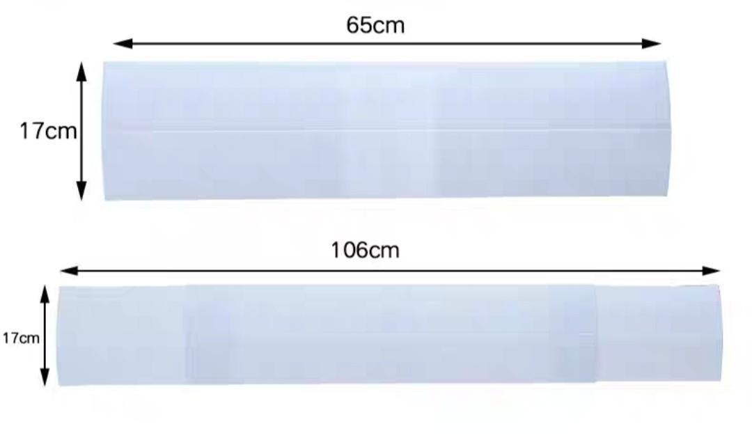 分體式冷氣機擋風板(有孔款)