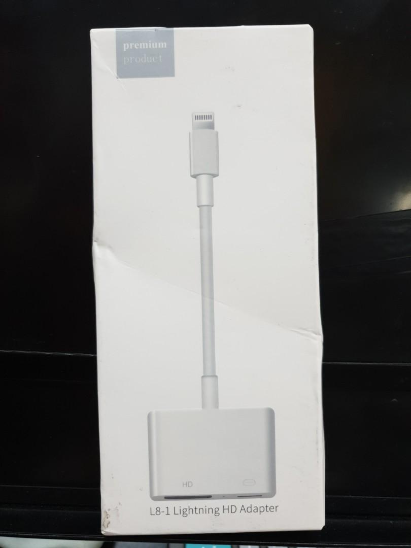 Lightning Adapter HDMI (brand new open n tested)