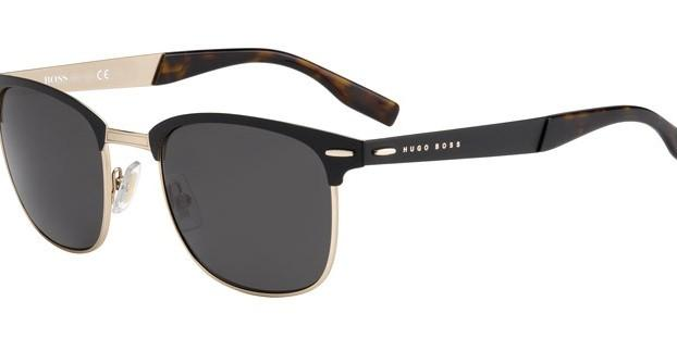 Authentic HUGO BOSS Unisex Rose Gold Metal Sunglasses (0595 5TSY1 145)