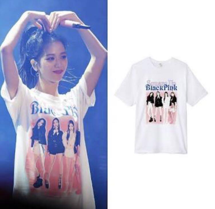BLACKPINK IN YOUR AREA WORLD TOUR Mechandise White Shirt