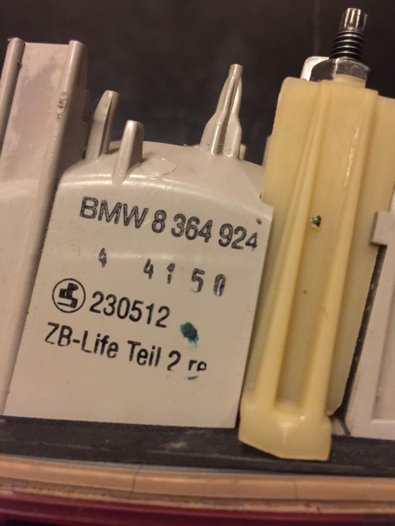 BMW 328i MODEL 1999-2000 INNER TAIL LIGHT