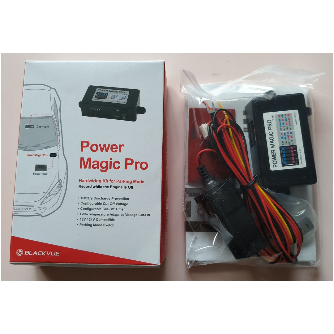 BRAND NEW Blackvue Power Magic PRO (Direct from Korea), Car
