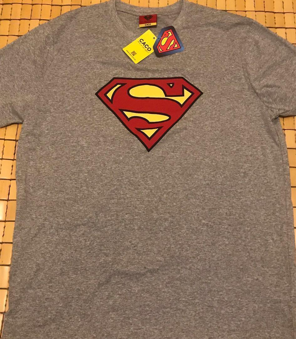 Caco Tee 超人款 Superman (全新未著過)