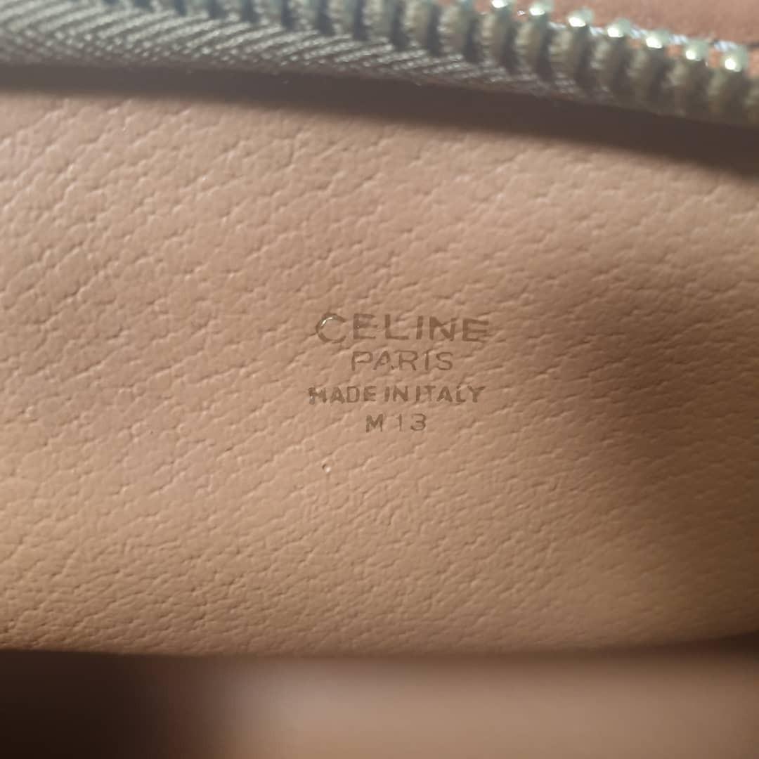 Celine  macadam pouch Vintage-Guaranteee Authentic