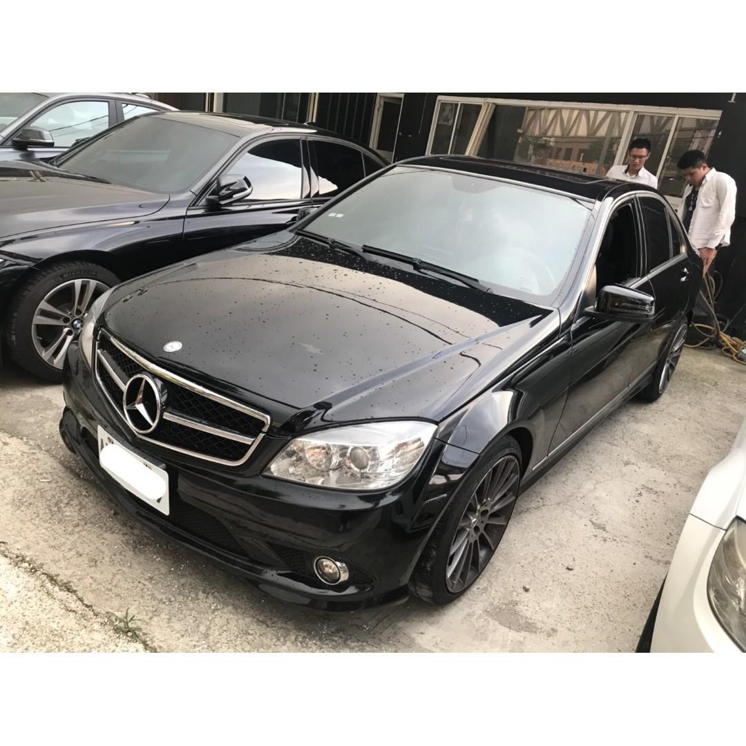 【FB搜尋桃園阿承】賓士 超人氣C300 2010年 3.0 黑色 二手車 中古車