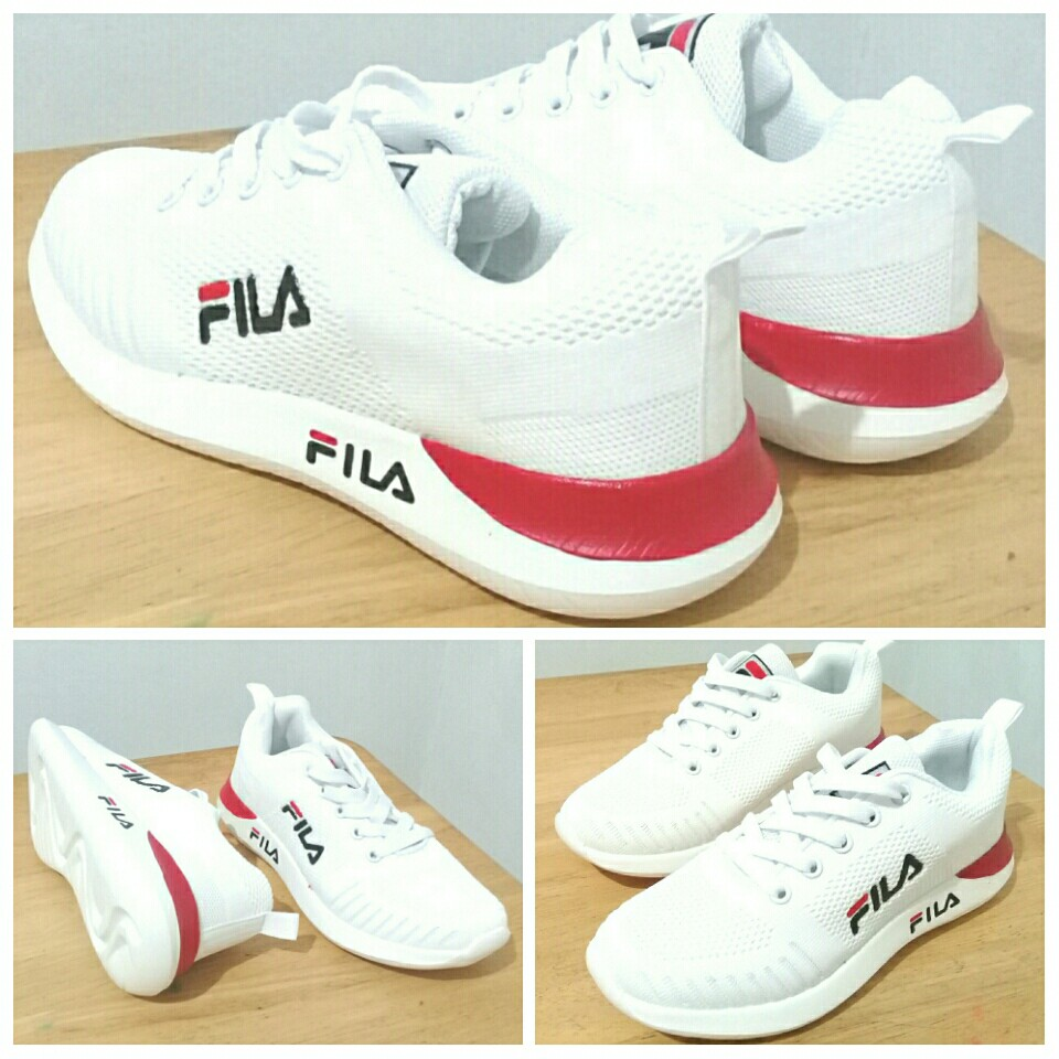 FILA White Sneakers/Rubber Shoes for