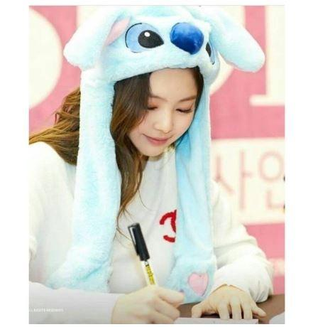 FREE SHIPPING Rabbit Bunny LED Pikachu Stitch Hat Twice Jihoon Wanna Jennie BlackPink BTS