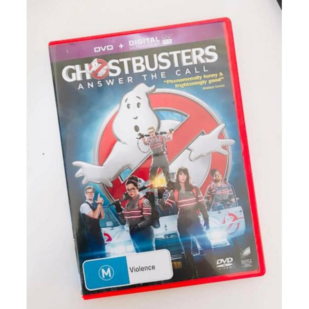 Ghostbusters DVD & Digital Code (like brand new) 2016