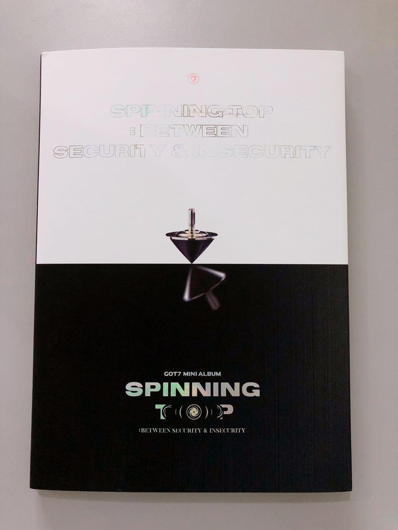 GOT7 SPINNING TOP : Between Security & Insecurity