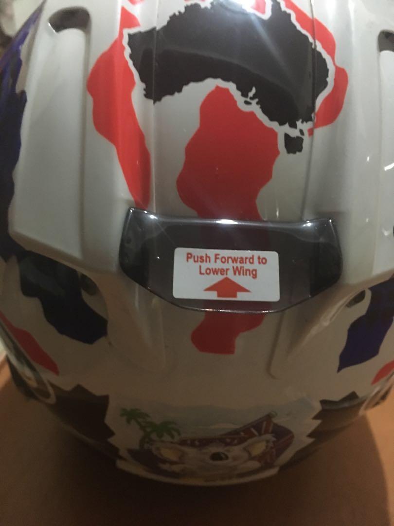 Helm ARAI rx7x mick doohan, Motorbikes on Carousell