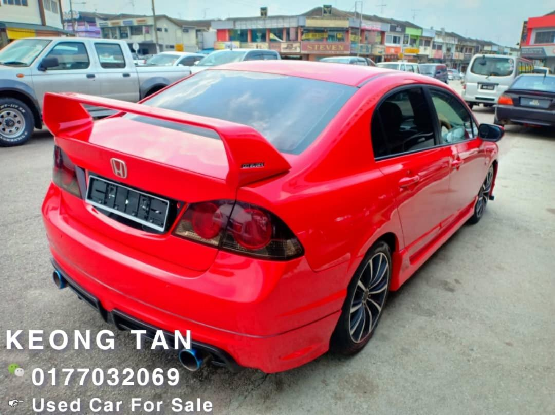 HONDA CIVIC 1.8AT FD i-VTEC Full SportModel Bodykit 2007TH JohorPlate🚘Cash💰OfferPrice💲Rm33,800‼LowestPrice InJB🎉INTERESTED Call📲 Keong 🤗