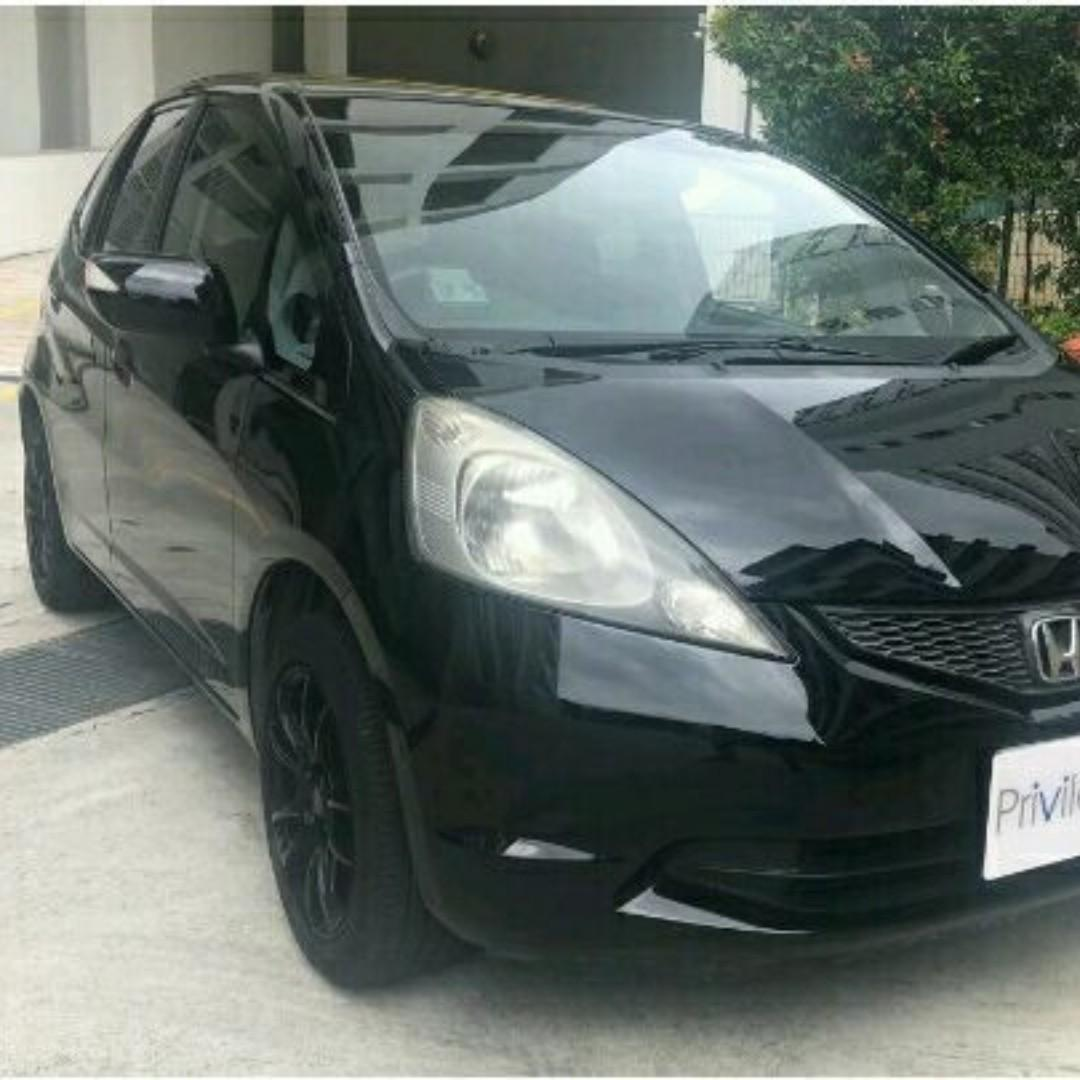 Honda Fit 1.3 G Auto Short/Long term leasing rental