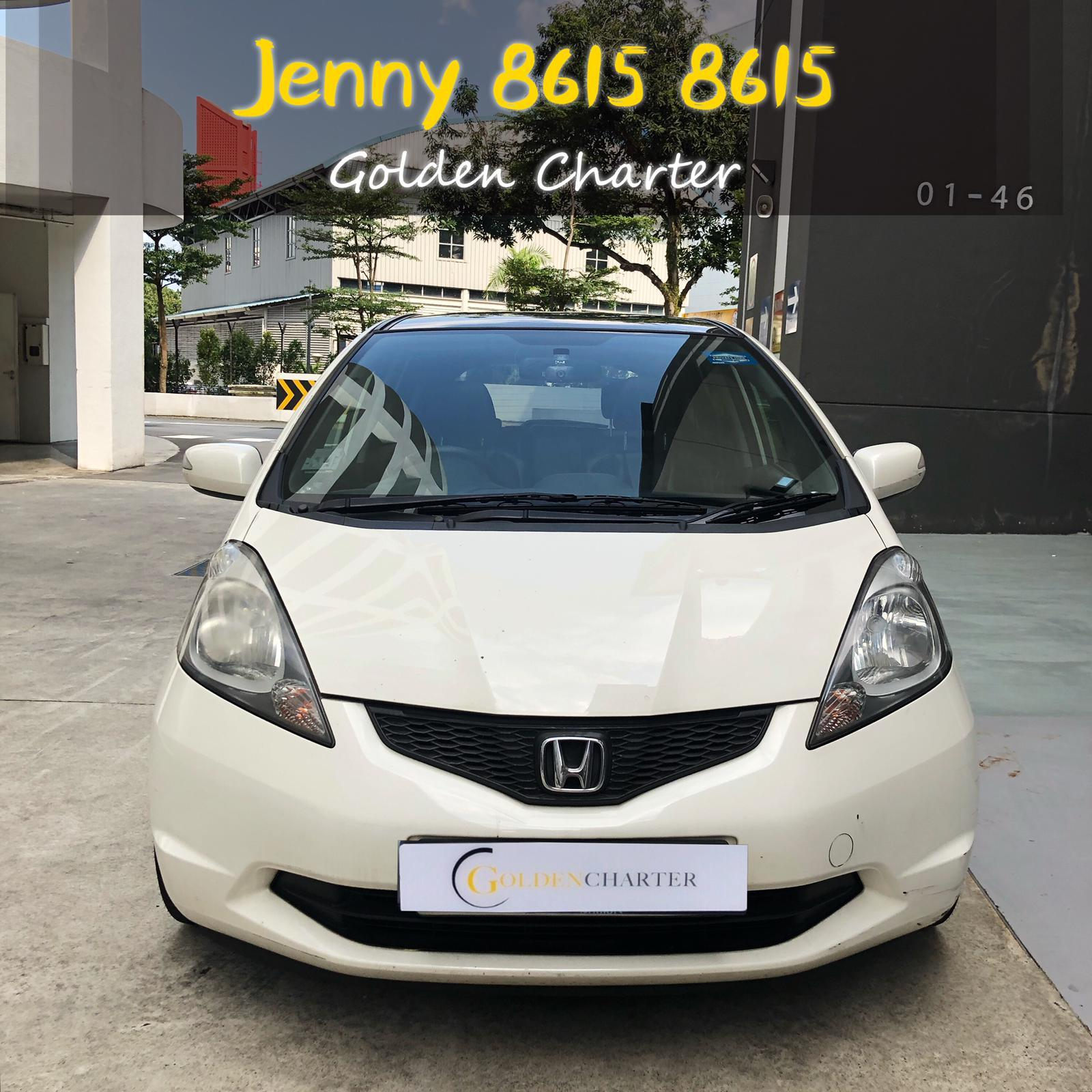 HONDA FIT SKYROOF 1.3a CHEAP PHV/PERSONAL CAR RENTAL (GOJEK & GRAB READY) cheprst rental car