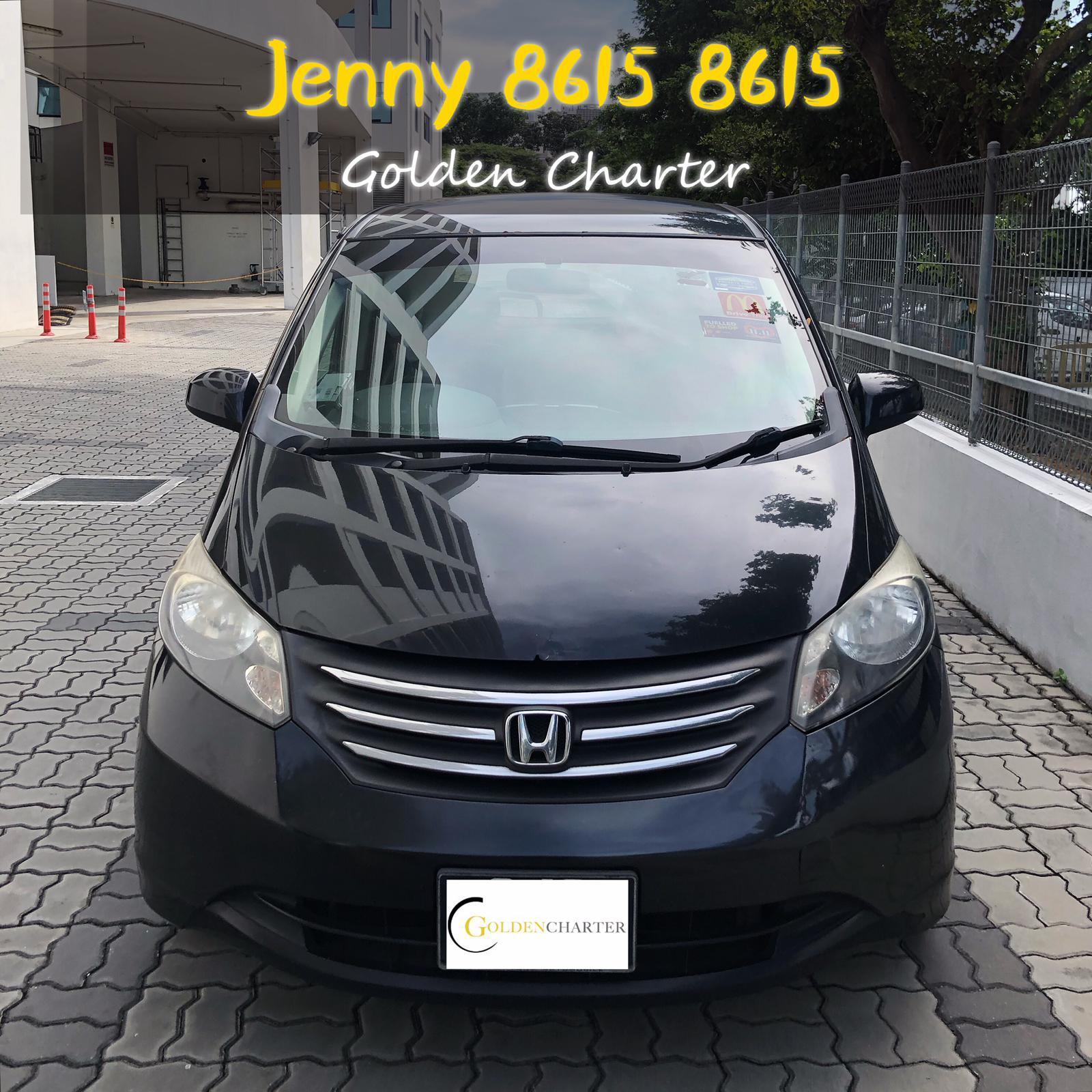 Honda Freed 5 seater *save petrol* For Rental PHV/Personal Usage(grab gojek)