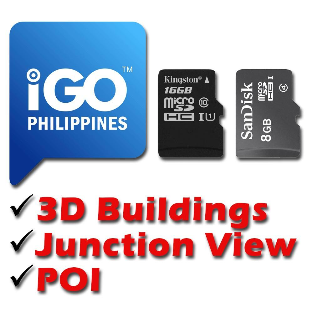 iGO Map & Philippines 2018 on SD Card on Carousell