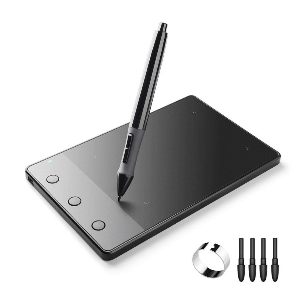 K195) Huion 420 Pen Graphics Drawing Tablet, Electronics
