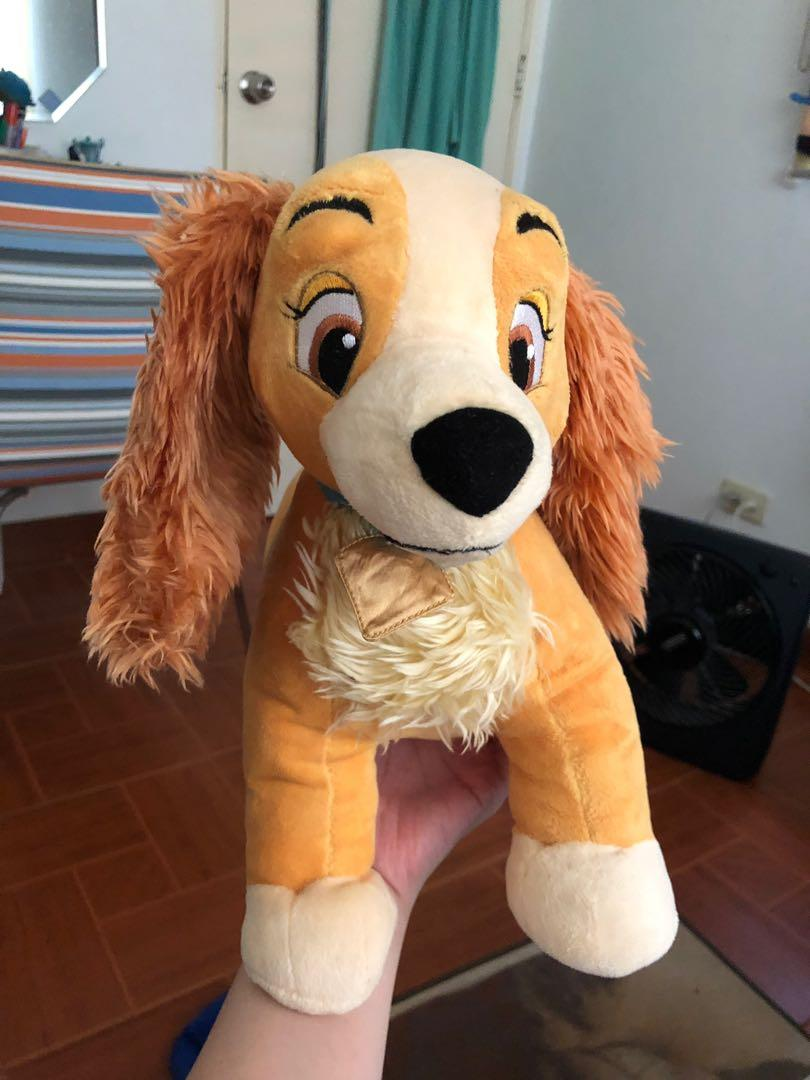 Lady Plush From Lady And The Tramp Babies Kids Toys Walkers On Carousell